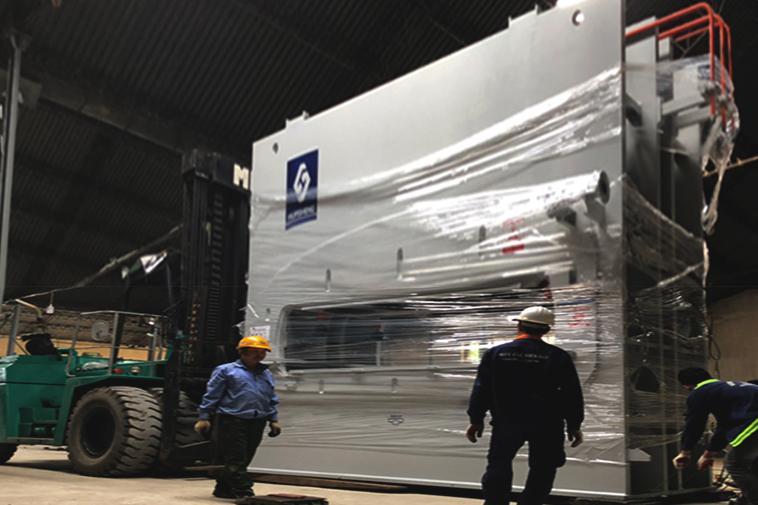Vận chuyển máy móc vật tư cần thiết bị đóng gói bốc dỡ hàng hóa chuyên nghiệp